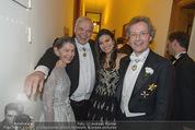 Philharmonikerball - Musikverein - Do 22.01.2015 - Alexander PEREIRA mit Daniela, Franz und Angelika WELSER-M�ST208