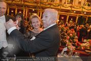 Philharmonikerball - Musikverein - Do 22.01.2015 - Michael H�UPL mit Ehefrau Barbara (H�RNLEIN)211