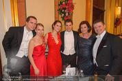 Philharmonikerball - Musikverein - Do 22.01.2015 - Andreas und Gabi WOJTA mit Familie220