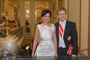 Philharmonikerball - Musikverein - Do 22.01.2015 - Josef OSTERMAYER mit Ehefrau Manuela34
