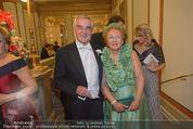 Philharmonikerball - Musikverein - Do 22.01.2015 - Herbert KOCH mit Ehefrau37