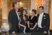 Philharmonikerball - Musikverein - Do 22.01.2015 - Stefan und Agnes OTTRUBAY, Andreas Mailath POKORNY, Sonja CATO4