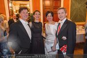 Philharmonikerball - Musikverein - Do 22.01.2015 - Tobias und Julia MORETTI, Josef OSTERMAYER mit Ehefrau Manuela42