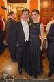 Philharmonikerball - Musikverein - Do 22.01.2015 - Tobias MORETTI mit Ehefrau Julia44