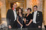 Philharmonikerball - Musikverein - Do 22.01.2015 - Stefan und Agnes OTTRUBAY, Andreas Mailath POKORNY, Sonja CATO5