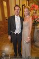 Philharmonikerball - Musikverein - Do 22.01.2015 - Ali Alexander QUESTER mit Ehefrau Kaja53