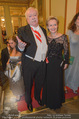 Philharmonikerball - Musikverein - Do 22.01.2015 - Michael H�UPL mit Ehefrau Barbara (H�RNLEIN)54