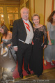 Philharmonikerball - Musikverein - Do 22.01.2015 - Michael H�UPL mit Ehefrau Barbara (H�RNLEIN)55