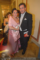 Philharmonikerball - Musikverein - Do 22.01.2015 - Peter HANKE mit Ehefrau61