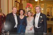 Philharmonikerball - Musikverein - Do 22.01.2015 - Franz WELSER-M�ST mit Ehefrau Angelika, Thomas und Eva ANGYAN64