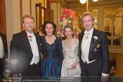 Philharmonikerball - Musikverein - Do 22.01.2015 - Franz WELSER-M�ST mit Ehefrau Angelika, Thomas und Eva ANGYAN65