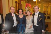 Philharmonikerball - Musikverein - Do 22.01.2015 - Franz WELSER-M�ST mit Ehefrau Angelika, Thomas und Eva ANGYAN66