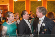 Philharmonikerball - Musikverein - Do 22.01.2015 - Maria und Andreas GROSSBAUER, Franz WELSER-M�ST85