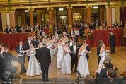 Philharmonikerball - Musikverein - Do 22.01.2015 - Baller�ffnung, Deb�danten, Tanzpaare, tanzen, Formation90