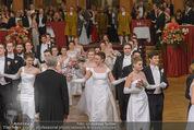 Philharmonikerball - Musikverein - Do 22.01.2015 - Baller�ffnung, Deb�danten, Tanzpaare, tanzen, Formation92