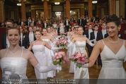 Philharmonikerball - Musikverein - Do 22.01.2015 - Baller�ffnung, Deb�danten, Tanzpaare, tanzen, Formation98