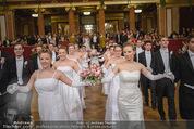 Philharmonikerball - Musikverein - Do 22.01.2015 - Baller�ffnung, Deb�danten, Tanzpaare, tanzen, Formation99