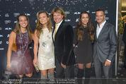 VIP-Empfang - WWP Zelt - Sa 24.01.2015 - Familie Hansi HINTERSEER, Frau Romana, Tochter Laura und Jessica2