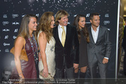 VIP-Empfang - WWP Zelt - Sa 24.01.2015 - Familie Hansi HINTERSEER, Frau Romana, Tochter Laura und Jessica45