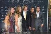VIP-Empfang - WWP Zelt - Sa 24.01.2015 - Familie Hansi HINTERSEER, Frau Romana, Tochter Laura und Jessica46