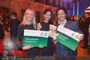 BP Charity Gala - Sofiensäle - Do 29.01.2015 - Rainer SCH�NFELDER mit Ehefrau Manuela, Sonja KLIMA1