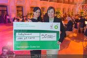BP Charity Gala - Sofiensäle - Do 29.01.2015 - Sonja KLIMA, Gerlinde HOFER (Scheck�bergabe)128
