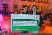 BP Charity Gala - Sofiensäle - Do 29.01.2015 - Sonja KLIMA, Gerlinde HOFER (Scheck�bergabe)129