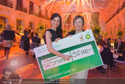 BP Charity Gala - Sofiensäle - Do 29.01.2015 - Sonja KLIMA, Gerlinde HOFER (Scheck�bergabe)134