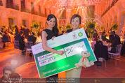 BP Charity Gala - Sofiensäle - Do 29.01.2015 - Sonja KLIMA, Gerlinde HOFER (Scheck�bergabe)135