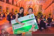 BP Charity Gala - Sofiensäle - Do 29.01.2015 - Sonja KLIMA, Gerlinde HOFER (Scheck�bergabe)137