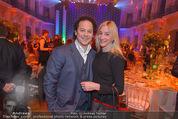 BP Charity Gala - Sofiensäle - Do 29.01.2015 - Rainer SCH�NFELDER mit Ehefrau Manuela5