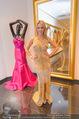 Lugner Ballkleid Anprobe - Popp & Kretschmer - Mo 02.02.2015 - Cathy LUGNER (Schmitz, alias Spatzi)25