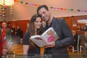 Buchpräsentation - Tanzschule Elmayer - Di 03.02.2015 - Thomas KRAML mit Ehefrau Bianca10