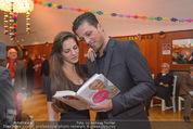 Buchpräsentation - Tanzschule Elmayer - Di 03.02.2015 - Thomas KRAML mit Ehefrau Bianca9
