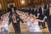 Kaffeesiederball - Hofburg - Fr 06.02.2015 - Baller�ffnung, Tanzpaare, Deb�danten170