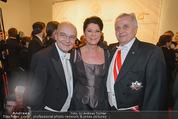 Kaffeesiederball - Hofburg - Fr 06.02.2015 - Rudolf HUNDSTORFER mit Ehefrau Karin, Hans STAUD50