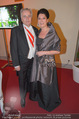 Kaffeesiederball - Hofburg - Fr 06.02.2015 - Rudolf HUNDSTORFER mit Ehefrau Karin66