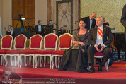 Kaffeesiederball - Hofburg - Fr 06.02.2015 - Rudolf HUNDSTORFER mit Ehefrau Karin73
