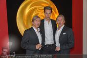 Helmuth Berger und Botox Boys - Le Meridien - Di 10.02.2015 - Botox Boys mit Sohn Florian8