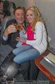 Elisabetta Canalis Abholung - Privatflug Mailand-Wien - Di 10.02.2015 - Richard und Cathy LUGNER14