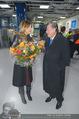 Elisabetta Canalis Abholung - Privatflug Mailand-Wien - Di 10.02.2015 - Richard LUGNER, Elisabetta CANALIS28
