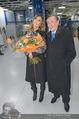 Elisabetta Canalis Abholung - Privatflug Mailand-Wien - Di 10.02.2015 - Richard LUGNER, Elisabetta CANALIS29
