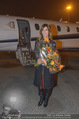 Elisabetta Canalis Abholung - Privatflug Mailand-Wien - Di 10.02.2015 - Elisabetta CANALIS37