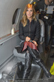 Elisabetta Canalis Abholung - Privatflug Mailand-Wien - Di 10.02.2015 - Elisabetta CANALIS40