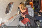 Elisabetta Canalis Abholung - Privatflug Mailand-Wien - Di 10.02.2015 - Elisabetta CANALIS (wie lange noch...?)65