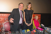 Elisabetta Canalis PK und Autogrammstunde - Lugner KinoCity - Mi 11.02.2015 - Elisabetta CANALIS, Richard LUGNER, Cathy LUGNER12