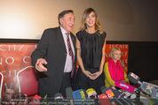 Elisabetta Canalis PK und Autogrammstunde - Lugner KinoCity - Mi 11.02.2015 - Elisabetta CANALIS, Richard LUGNER, Cathy LUGNER14