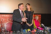 Elisabetta Canalis PK und Autogrammstunde - Lugner KinoCity - Mi 11.02.2015 - Elisabetta CANALIS, Richard LUGNER, Cathy LUGNER15