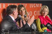 Elisabetta Canalis PK und Autogrammstunde - Lugner KinoCity - Mi 11.02.2015 - Elisabetta CANALIS, Richard LUGNER, Cathy LUGNER25