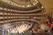 Opernball 2015 - Das Fest - Wiener Staatsoper - Do 12.02.2015 - Baller�ffnung, Deb�danten Einzug, �bersichtsfoto, Logen19
